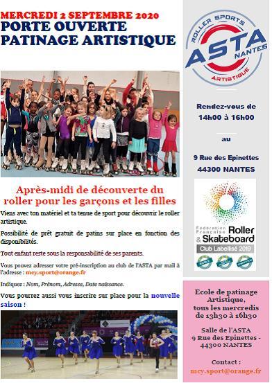 Porte ouvertes 2020 - ASTA Nantes